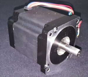 Lot Of 3 High Torque 906 Oz in Nema34 Stepper Motors