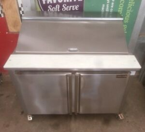 Cooltech Refrigerated 2 door Sandwich Prep Table 48