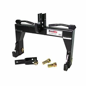 Ranchex 102851 Quick Hitch Adjustable Top Bracket Cat 1 Includes Top Pins And