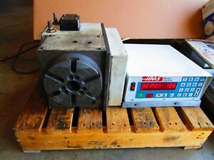 Haas Hrt 160sp 4th Axis Rotary Table And Controll Box Brush Type Good Condition
