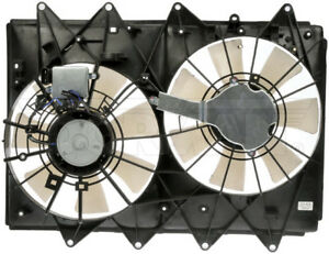 New Engine Radiator Dual Cooling Fan Assembly With Controller Dorman 621 434