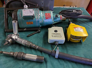 Suhner Flexible Shaft Grinder Brusher Buffer Polisher 5hp 6speed With Ab Cont