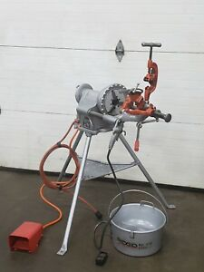 Ridgid 300 Pipe Threader Carriage Die Head Reamer 300 t2 Oiler 1 2 To 2 4
