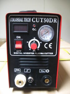 Plasma Cutter Cut50dr Digital New Inverter 110 220v Dual Includes 35 Consumables