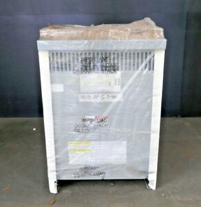 General Electric 15kva 480 120 240 Single Phase Transformer