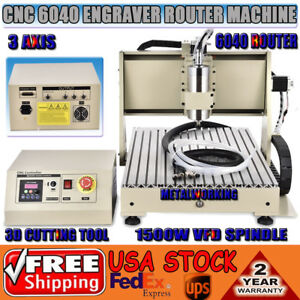 Desktop Cnc Router 6040 Engraver Machine Engraving Milling drilling 3 Axis 6040
