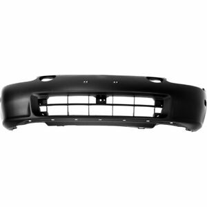 Bumper Cover For 93 95 Honda Civic Del Sol Front Primed With Emblem Provision