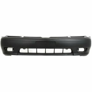 Bumper Cover For 2001 2003 Toyota Sienna Front Plastic Primed W Fog Light Holes