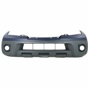 Bumper Cover For 2009 2018 Nissan Frontier Front Primed Top Textured Bottom Capa