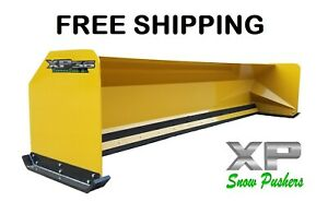 14 Xp36 Jrb 416 Snow Pusher Box For Backhoe Loader Express Steel Free Shipping