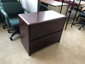 2dr 36 wx20 dx 29 h Lateral File Cabinet By Miller Office Furniture W lock