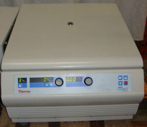 Thermo Sorvall Legend T Benchtop Centrifuge W Rotor And 75006441 Buckets