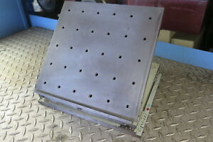 11 5 X 11 Compound Sine Fixture Plate shipping Discount