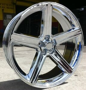 20 Inch Iroc Rims Tires Camaro Chevelle Cutlass Regal Malibu Bel Air Skylark