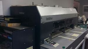 Direct to garment Printer Brother Gt 782 Viper Pre treat 2 Heat Presses