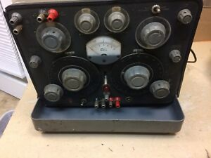 General Radio Capacitance Bridge Type 1617 Selling As is For Parts Only