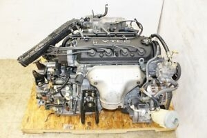 98 02 Honda Accord Engine Automatic Transmission F23a Sohc Vtec 2 3l 4 Cylinde