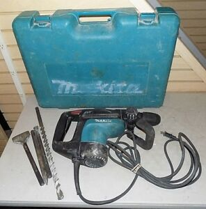 Makita Hr4010c Corded Rotary Hammer Drill With Accessories Case
