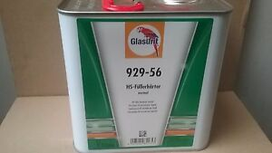 Glasurit 929 56 2k Hs Primer Filler Hardener Standard 2 5 Litre Surfacer