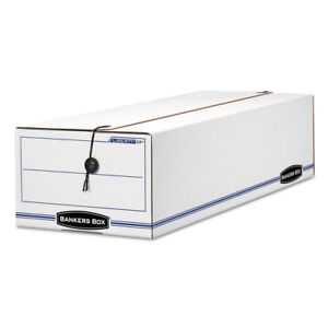 Fellowes Liberty Storage Box Record Form White blue 12 ctn 22 New