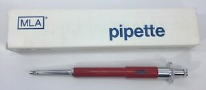 Mla Precision Variable Volume Pipette 50 200ul Cleaned And Calibrated
