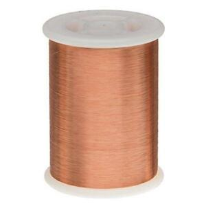 Remington Industries 43snsp 43 Awg Magnet Wire Enameled Copper 1 0 Lb