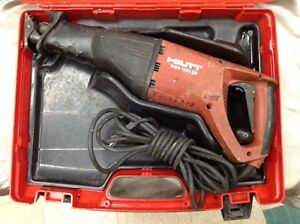 Hilti Wsr 1250 pe Orbital Reciprocating Saw 1 1 4 Stroke Length Corded Electric