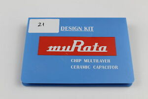 Murata Grm Kit B Chip Multilayer Ceramic Capacitor Design Kit