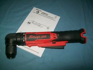 New Snap On Lithium Ion Cdrr761db 14 4v 3 8 Right Angled Cordless Drill Driver