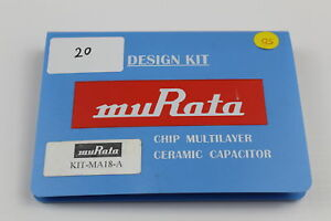 Murata Kit ma18 a Chip Multilayer Ceramic Cap Design Kit Value Missing As Is