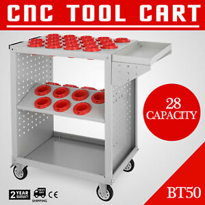 Bt50 Cnc Tool Trolley Cart Holders Toolscoot Warehouse Milling Super Scoot