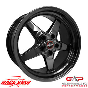 Race Star 17x9 5 92 795452dsd Dodge Charger Challenger 92 Drag Star Blk Chrome