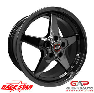 Race Star 18x10 5 92 805253dsd 10 5th 6th Gen Camaro 92 Dark Star Blk Chrome