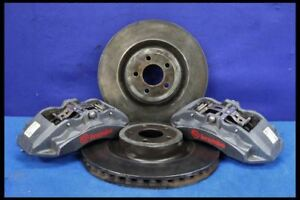 2015 2016 2017 2018 Ford Mustang Gt 6 Piston Brembo Brake Calipers 15 Rotors