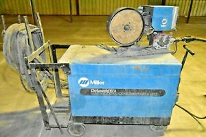 Miller 651 Deltaweld 650 Amp Constant Voltage Dc Power Source Welder W Wire Feed