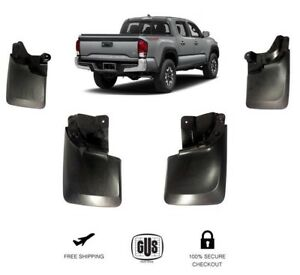 For Toyota Tacoma Mud Flaps Mud Guards Splash Year 16 18