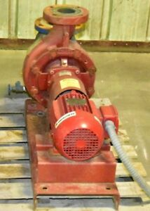 Armstrong 180 Gpm Fire Pump Powered By Weg 21 Severe Duty Motor