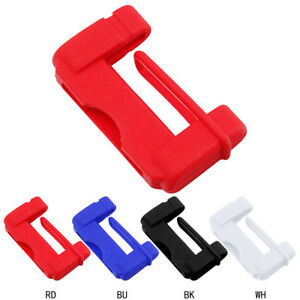 2pcs Universal Car Seat Belt Buckle Silicone Cover Clip Anti Scratch Cover