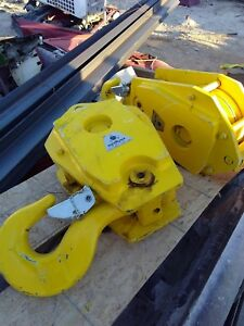 25 Ton Rope Blocks Crane Hoist Pulleys