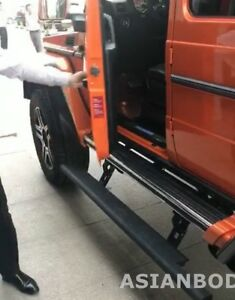 For Mercedes Benz G Class G550 4x4 Long Side Step Electric Power Steps