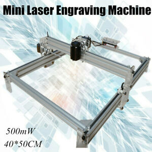 500mw Diy Mini Laser Engraver Engraving Machine Wood Logo Marking Printer Kit Us