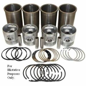 Pistons Sleeves And Rings Kit 4 1 8 Overbore Allis Chalmers Wd45 D17 170 175