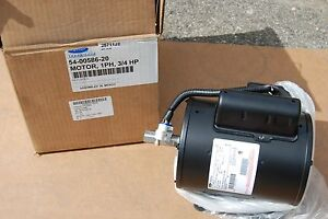 Carrier Transicold 54 00586 20 Electric Motor 3 4 Hp Single Phase 208 240 480