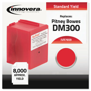 Innovera 7659 Compatible Postage Meter Red Ink Standard 8 000 Page yield New