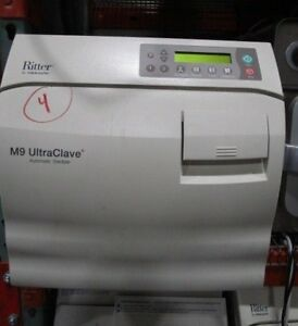 Midmark Ritter Ultraclave M9 Autoclave Sterilizer 4 Cycles Tested Warranty