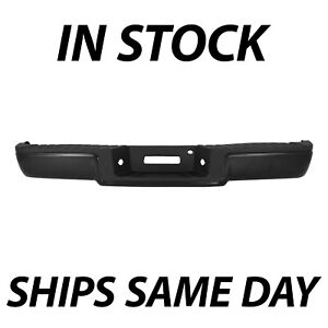 New Primered Complete Rear Steel Bumper For 2006 2007 2008 Ford F150 Truck