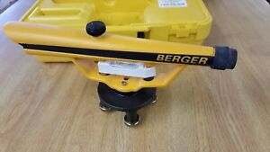 Berger Instruments 135 Surveying Transit Level Scope