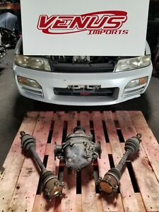 Jdm Nissan Skyline R33 Differential Gts T Rb25det Lsd With Axles Non Abs