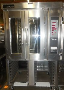 Used Baxter Ov300g Mini Rotating Convection Oven Nat Gas 120 Volts