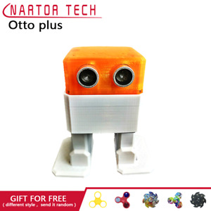 Otto Diy With Arduino Robot Open Source Maker Obstacle Avoidance Bluetooth